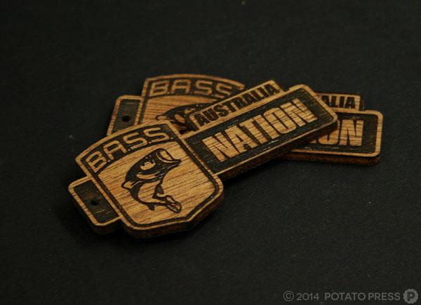 Bass-nation-fishing-wood-keyrings-trophy-wood-layer-laser-lasercut-etch-timber-custom-goldcoast-gold-coast-sydney-brisbane-melbourne-australia