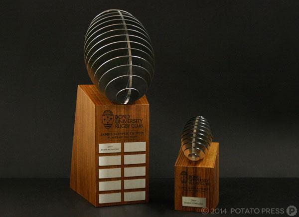 Bond-uni-university-laser-footy-football-trophy-perpetual-custom-work-bespoke-wood-timber-australi-international-brisbane-melbourne-goldcoast-sydney