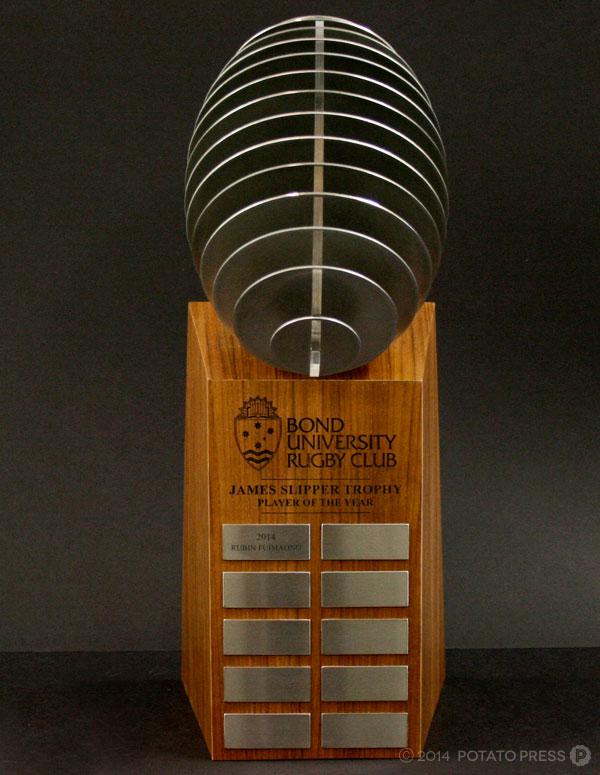 Bond-uni-university-laser-front-footy-football-trophy-perpetual-custom-work-bespoke-wood-timber-australi-international-brisbane-melbourne-goldcoast-sydney