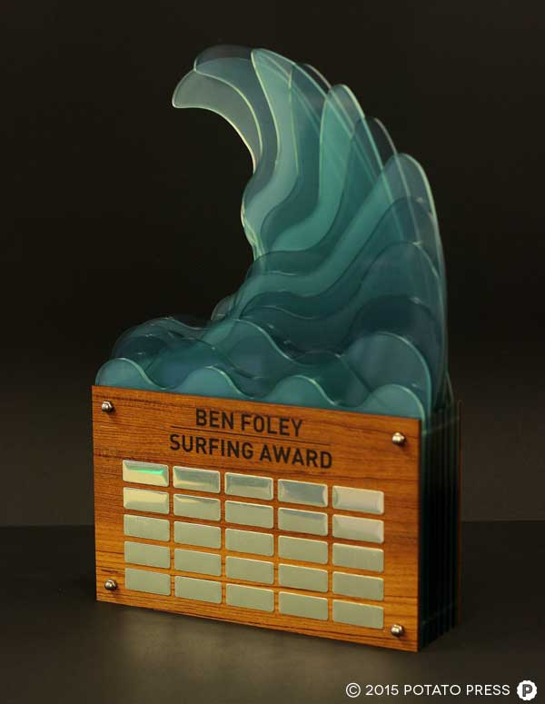 CBC-FREMANTLE-1-custom-trophy-layered-acrylic-wood-surf-wave-custom-bespoke
