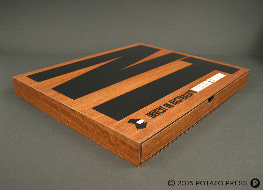 custom-timber-presentation-folder-invest-NT-potato-press-australia-north-america