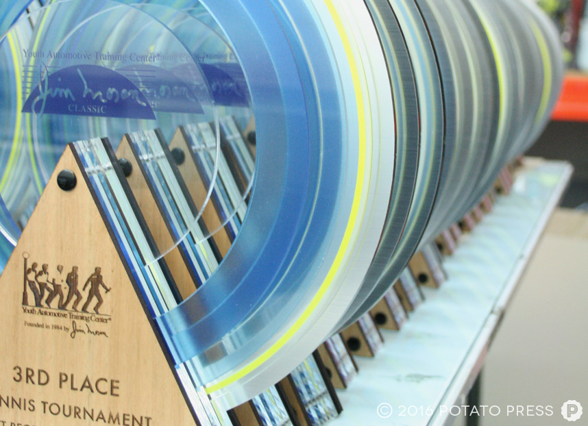 potato-press-circular-custom-trophy-layered-printed-acrylic-laser-etch-award-detail-workshop