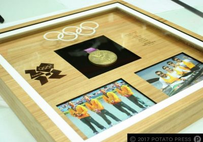 Olympic Rowers Custom Gold Medal Case