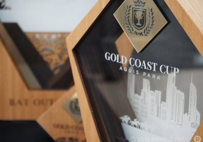 Custom Award for Gold Coast Turf Club