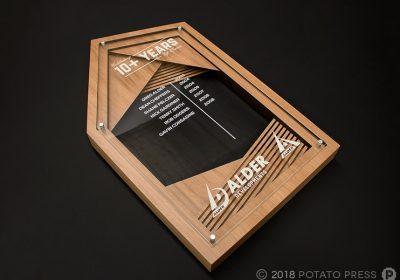 Alder Custom Timber Honour Board