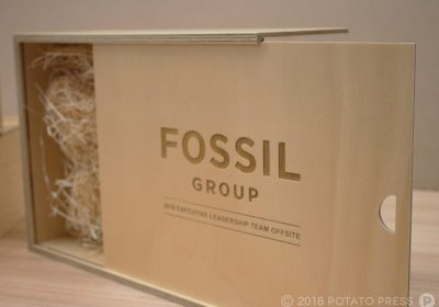 Fossil Custom Timber Boxes